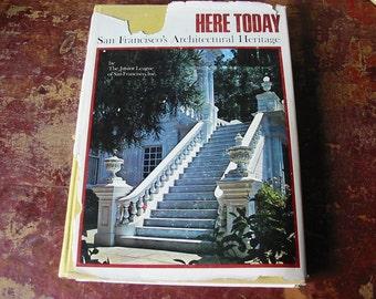 San Francisco CA Architecture Book Jr League of San Francisco Architectural  Heritage Illustrated San Francisco Historic Preservation 1969
