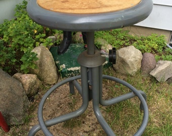 SALE!! Was 199.99 Now 150.00 Vintage Industrial Stool