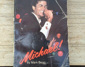 Michael! by Mark Bego // Michael Jackson Collectible Book // 1984