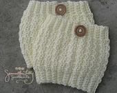 Boot cuffs, Pebble boot cuffs, crochet, crochet boot cuffs