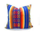 Navy Pillow Cover.Navy Blue Pillows, Decorative. Blue Pillow Cover.Blue Pillow.Decorative Pillow, Solid Blue, Chevron, 19x19 Cushion