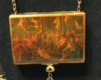 Assemblage Necklace...Heaven's Children...FREE Shipping in the USA