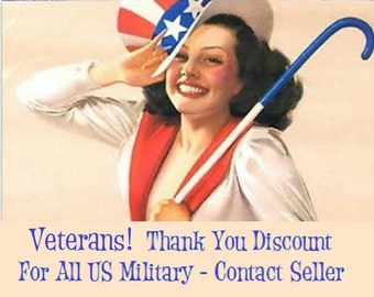 U.S. Military Discount Code For Active, Veterans, USMC, Coast Guard, Army, Navy, Air Force, Marines, Thank You For Your Service