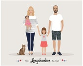 Custom Family Portrait, Additional Person