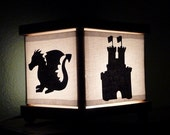 Dragon Night Light Knight Castle Dragons Decor