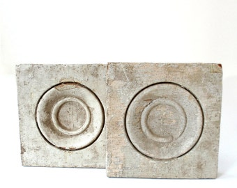 Vintage Set of Two Plinth Blocks