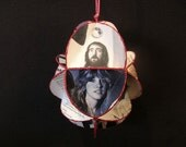 Fleetwood Mac Album Cover Ornament Made Of Record Jackets - Stevie Nicks