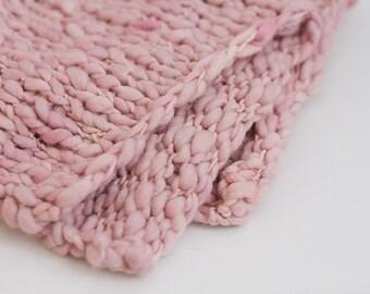 READY TO SHIP Merino Mini Blanket