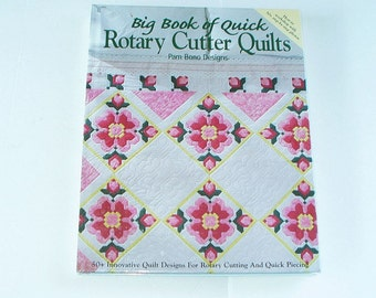 Quilting Book Big Book of Quick Rotary Cutter Quilts Quilting Book 50 Designs 2001 Oxmoor House Hardcover 320 pages