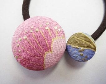 Japanese pure silk Hair accessories Cherry blossom design 152