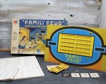 Family Feud Board Game by Milton Bradley, 4th Edition