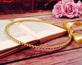 STEFANA Wedding Crowns - Orthodox Stefana - Bridal Crowns STRASSA gold - One Pair