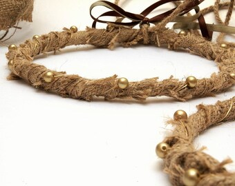 STEFANA Wedding Crowns - Orthodox Stefana - Bridal Crowns DIMITRA - One Pair