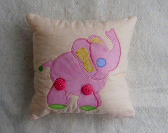 Blue Elephant Pillow Pink Elephant Pillow Jungle Pillow Baby Animal Pillows Pacifier Pillows Baby Pillows Nursery Pillows Boy Pillows Girl