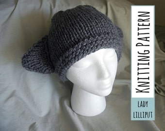 PATTERN - Knitted Kitty Hat