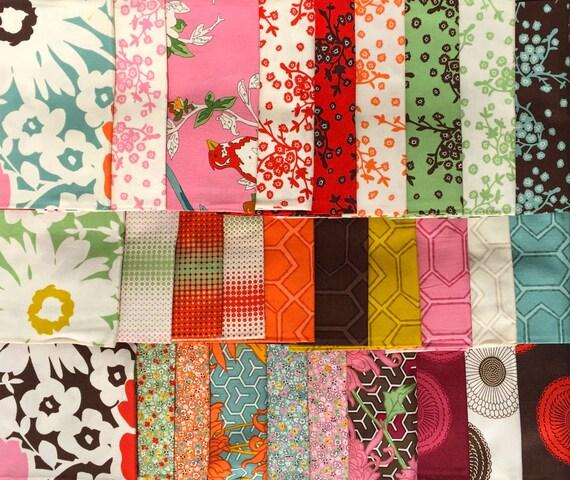 Erin Michael UpTown moda fabric original release 29 FQ set Please Read