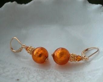 Venetian Murano Glass Earrings On Sale