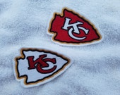 Kansas City Chiefs Applique/Patch/Feltie/Iron on