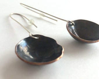 Earrings Statement Sterling Silver Earrings  Long Dangle Earrings Women's Gift