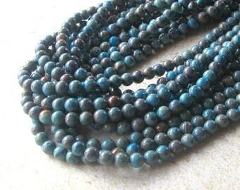 Blue Ribbon Jasper, Imperial Jasper, Imperial Turquoise, Sky Blue Jasper, Gemstone Beads, Jasper Beads, Craft Supply, Jewelry making Beads