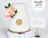Bridesmaid and Jewelry Gift - 12 Charm Cake Pulls