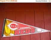 Cincinnati Reds Sport Pennant MAN CAVE Sports Bar Kids Room