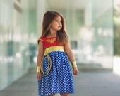 Wonder Woman Dress Costume