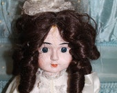TWO 18 inch tall AND 16 inch musical haunted dolls Jilted lover wedding doll porcelain very active spooky haunted creepy ghost dolls
