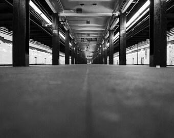 Brooklyn G Subway, New York City Photography Print, NYC Wall Art, NYC Subway