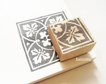 Tiles Stamp Etsy
