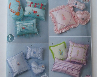 Decorative Pillows for Girls or Teens UNCUT Simplicity Pattern 2385
