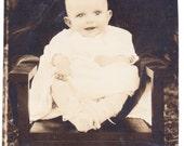 Vintage Photo - Ghostly Baby - Vernacular, Ephemera, Found Photo (A)