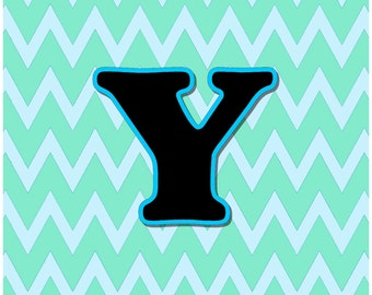 Letter Y  Digital Download