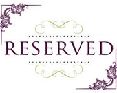 reserved for Helen