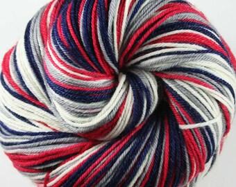 BLUEJACKETS Superwash Merino/Nylon/Tencel Self-Striping Fingering Weight Yarn