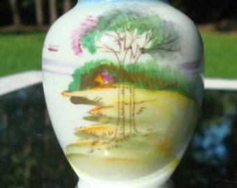 Occupied Japan Miniature Vase Vintage Vase Collectible Vase 1947 - 1952