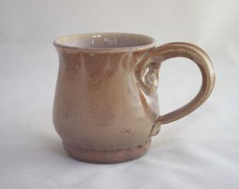 Mocha Crystalline Ceramic Mug