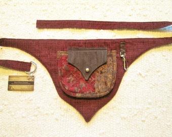 Festival Burning Man Pocket Tapestry Utility Belt