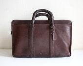 Bonnie Cashin Large Coach Brown Handbag