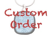 Custom Child's Drawing Charm Necklace, Made for Debbie