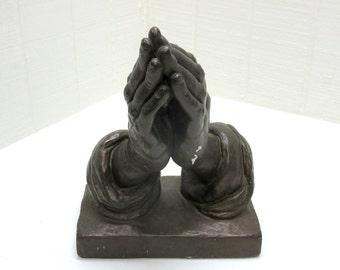 Vintage Praying Hands Religious Statue Austin Prod Betende Hande Study of the Hands Albrecht Durer