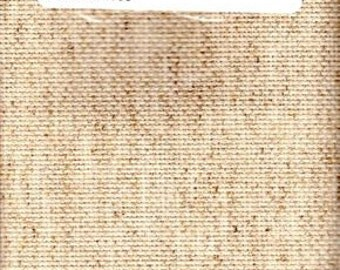 GT 171 - Fiddlers Cloth Aida, 14 Count, Oatmeal,37 X 13 Inches,94 X 33 cm, Cut Fabric Collection