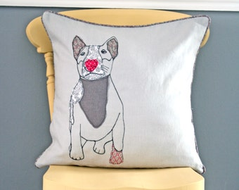 Dog cushion with Piping