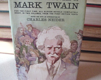 The Complete Novels of Mark Twain Vol 2 Edited by Charles Neider Hardcover 1964 First Edition