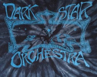 Dark Star Orchestra Concert T Shirt 90's Authentic Vintage Grateful Dead Tribute Band