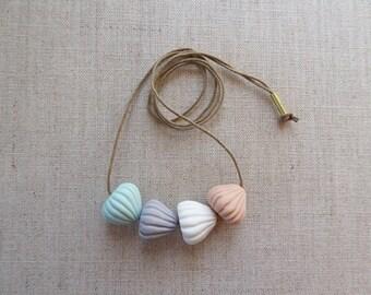 Meringue Porcelain Necklace