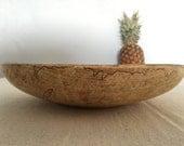 Beautiful Turned //  Spalted Sugar Maple // Heirloom Wood Serving Bowl