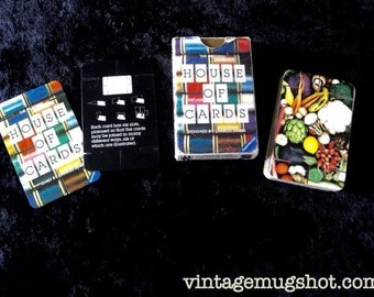 """CHARLES EAMES  Original House of Cards  Vintage  2 1/2"""" x  31/4"""" Uncommon Mid century"""