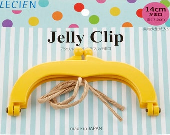 """Jelly Clip - Yellow - 5.5"""""""