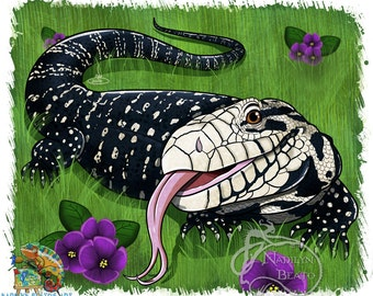 Tegu Daily Creature Prints